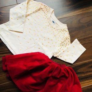Old Navy Baby Girl's 2pc Tulle Skirt Set